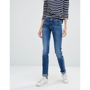 MiH Oslo Mid Rise Slim Jeans in Sugarblue 28